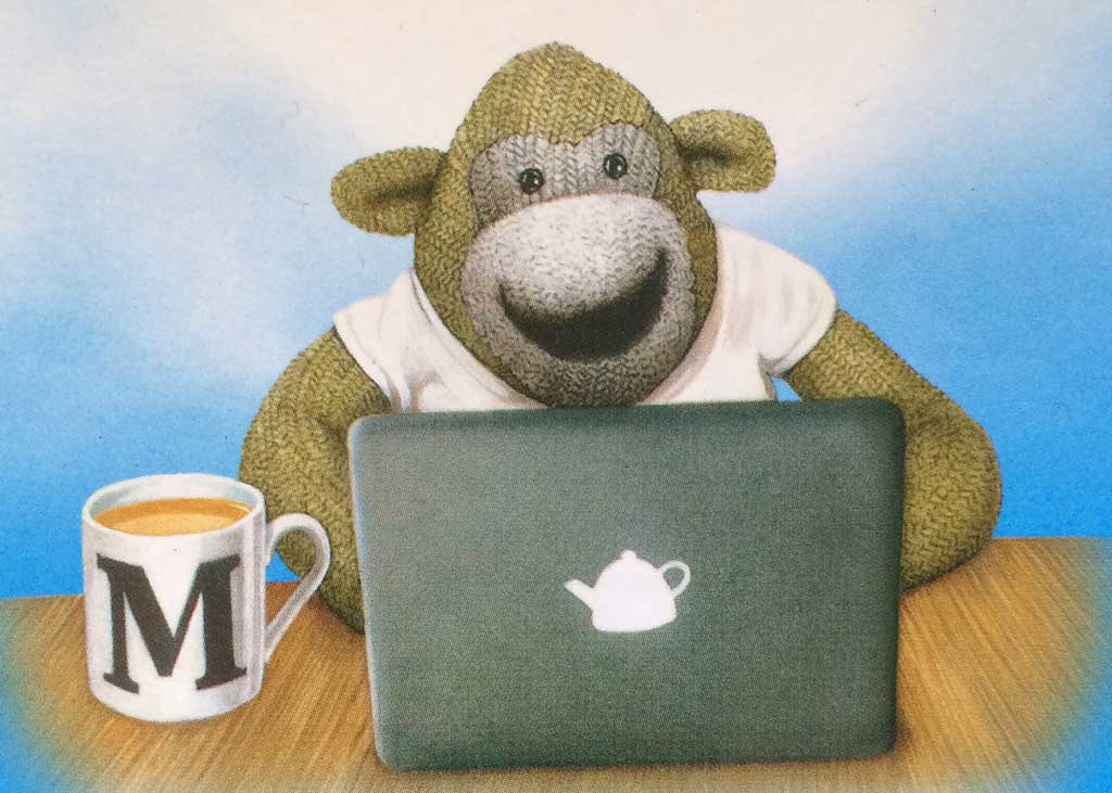 PG Tips Monkey T-Book