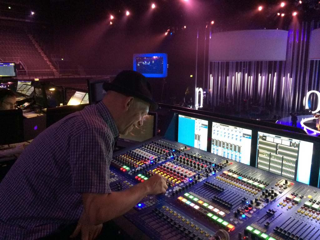 Nick Allen mixing James Blunt