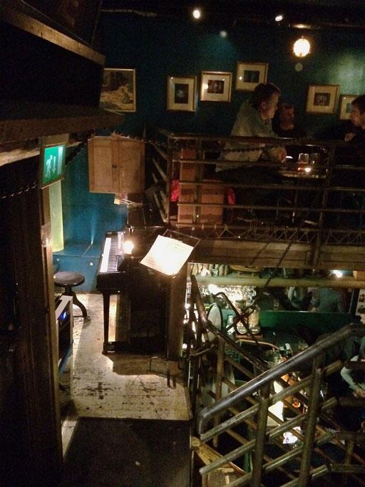 Underwater Pub Stage