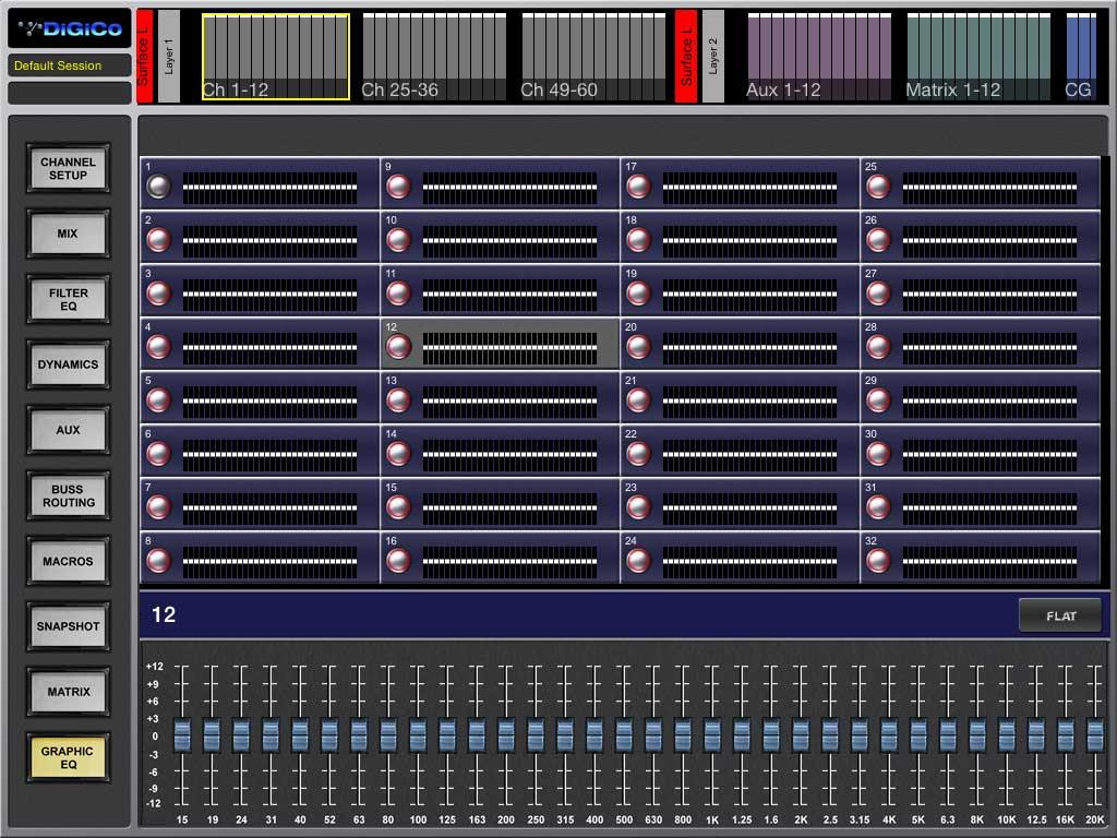 DIGICo SD Graphic EQ View