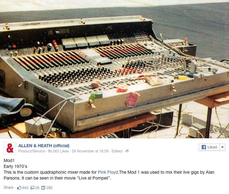 Allen & Heath Mod1 Quad Mixer