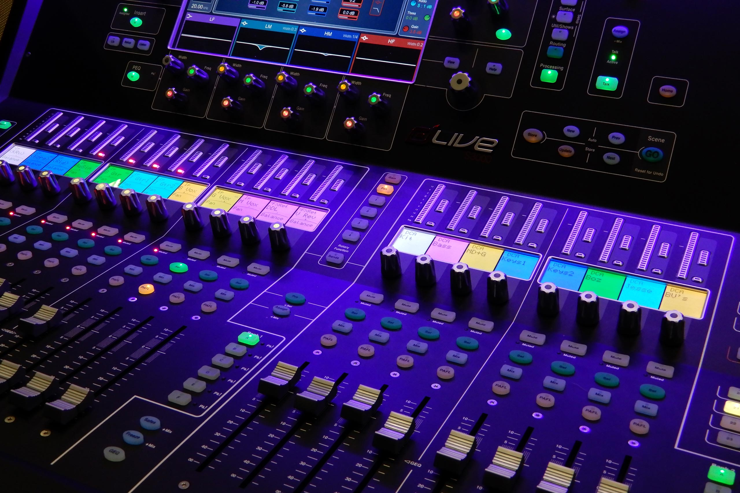 dLive S3000 Mixing Console